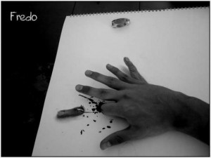 Anamorphic 3D Drawings- 6 Fingers