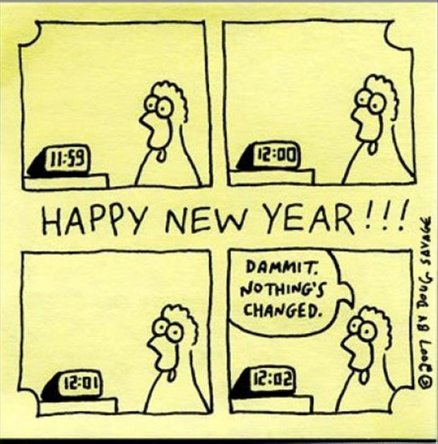 Funny Happy New Year Wishes Quotes: Funny New Years Resolutions