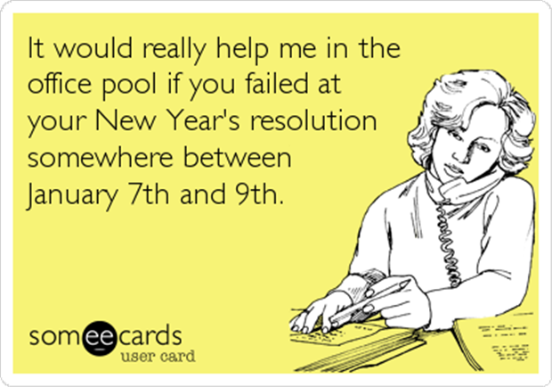 new year's resolution humor