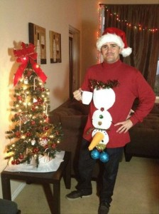 a funny christmas sweater, funny pictures