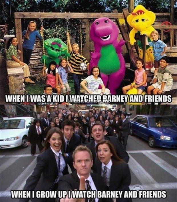 Funny Pictures Of The Day 40 Pics: Barney And Friends