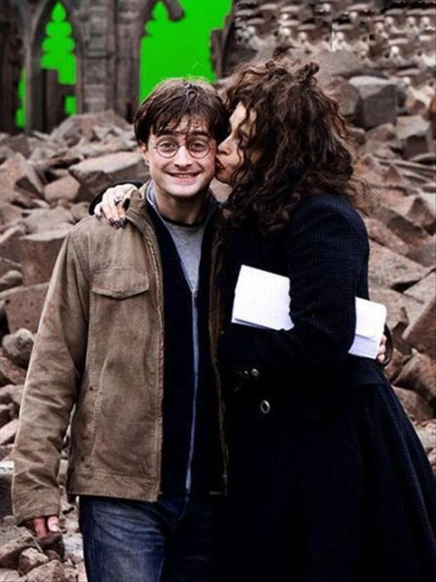Behind The Scenes Of Harry Potter Movies Dumpaday 1