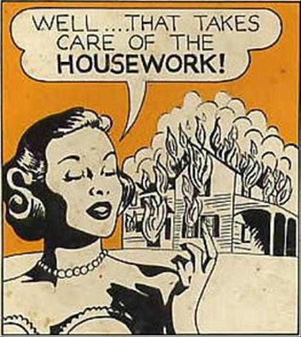 Funny Housework Memes : Burn your house down funny pictures dump a day