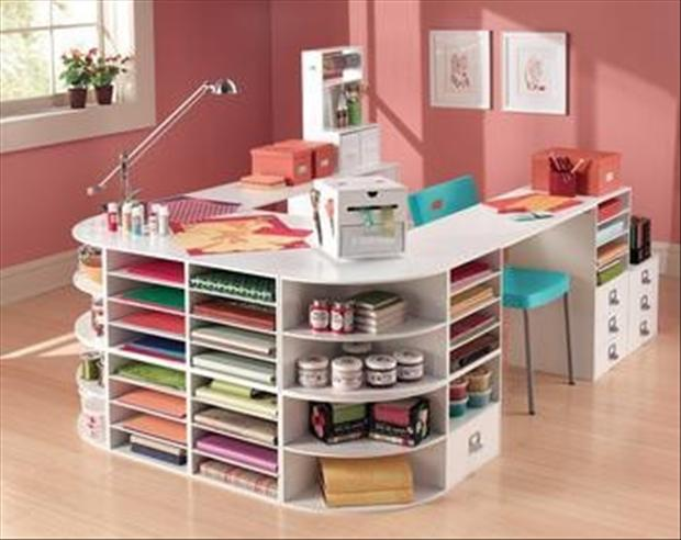 Do It Yourself Craft Room Dump A Day