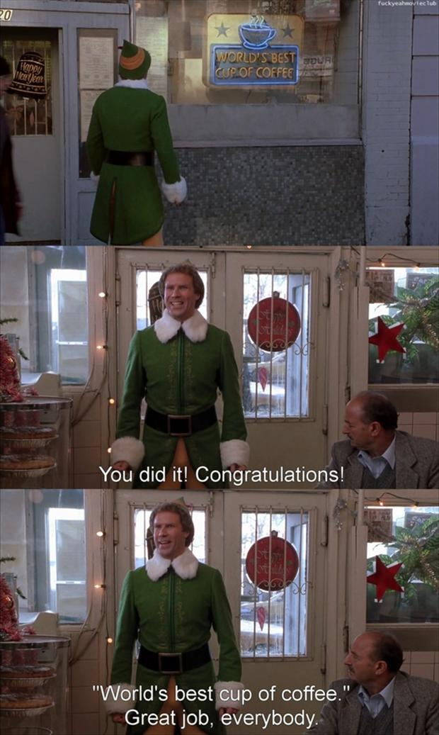 Elf Christmas Movie Funny Quotes