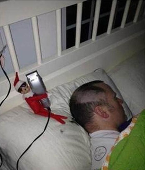 what elf on the shelf does while you re sleeping 30 pics