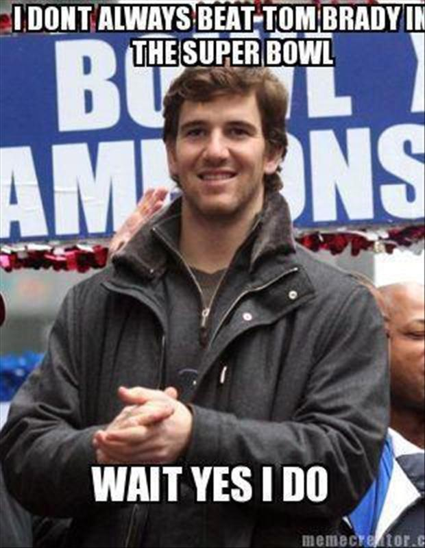 Funny Eli Manning Pictures