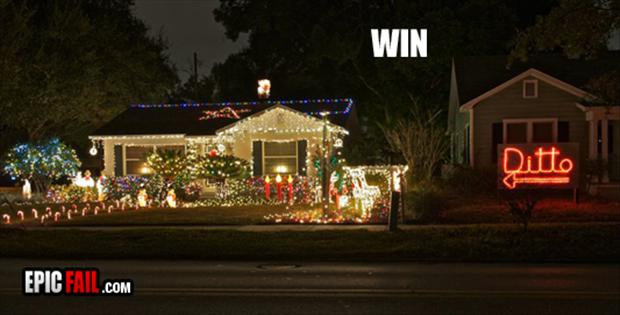 funny christmas lights, ditto - Funny Christmas Lights, Ditto - Dump A Day
