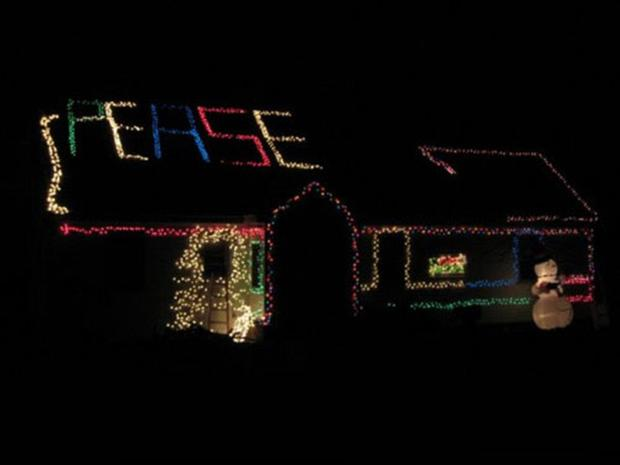 funny christmas lights, peace, funny christmas pictures - Funny Christmas Lights, Peace, Funny Christmas Pictures - Dump A Day