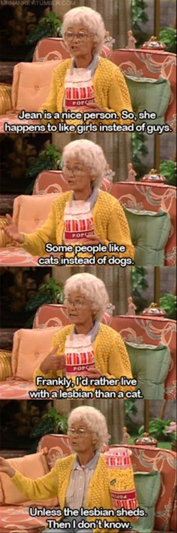 funny golden girls quotes