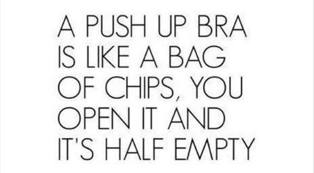Funny quotes a push up bra is like a bag of chips dump a day funny quotes a push up bra is like a bag of chips altavistaventures Gallery