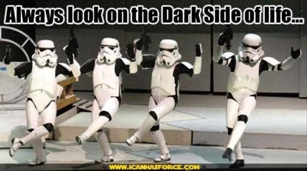 Image result for the dark side funny