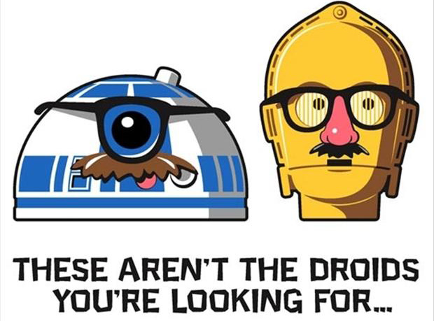 Funny star wars droids