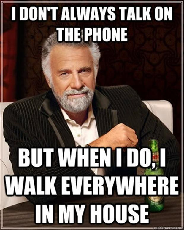 Funny talking on the phone meme