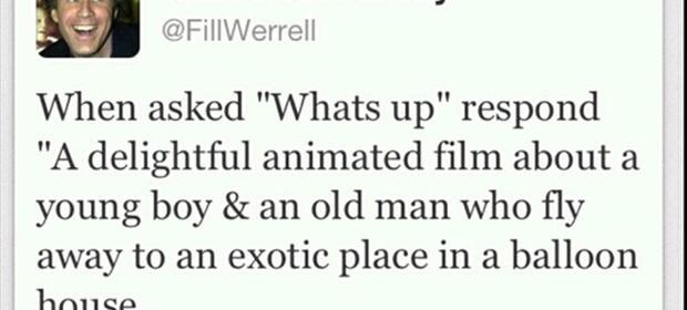 funny will ferrel tweets