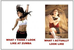 funny zumba pictures