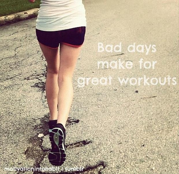 motivational fitness quotes bad days make for great