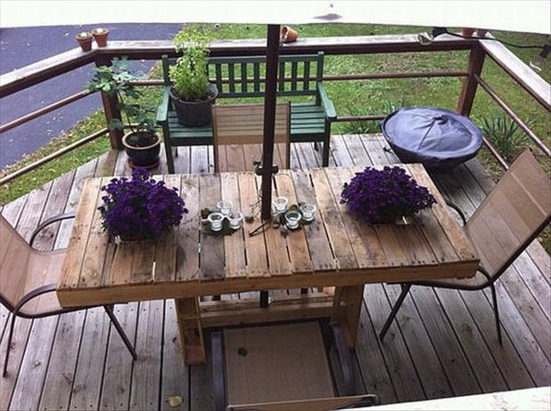 Deck Table Ideas outdoor tables on sale now an outdoor table from our teak outdoor furniture collection makes Pallet Ideas Deck Table