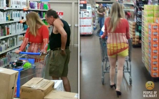 Express gratitude people walmart shoppers theme, will