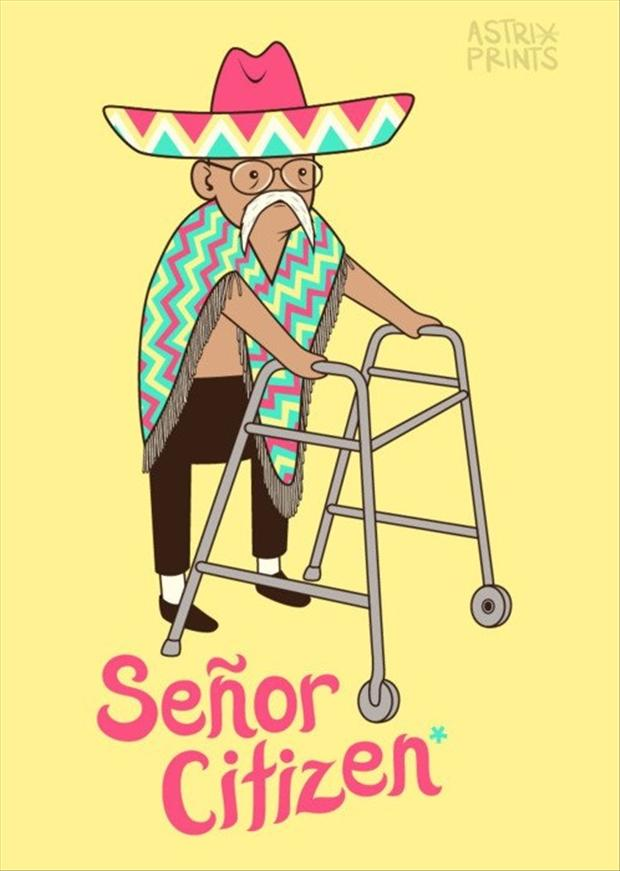 senior citizens, funny pictures