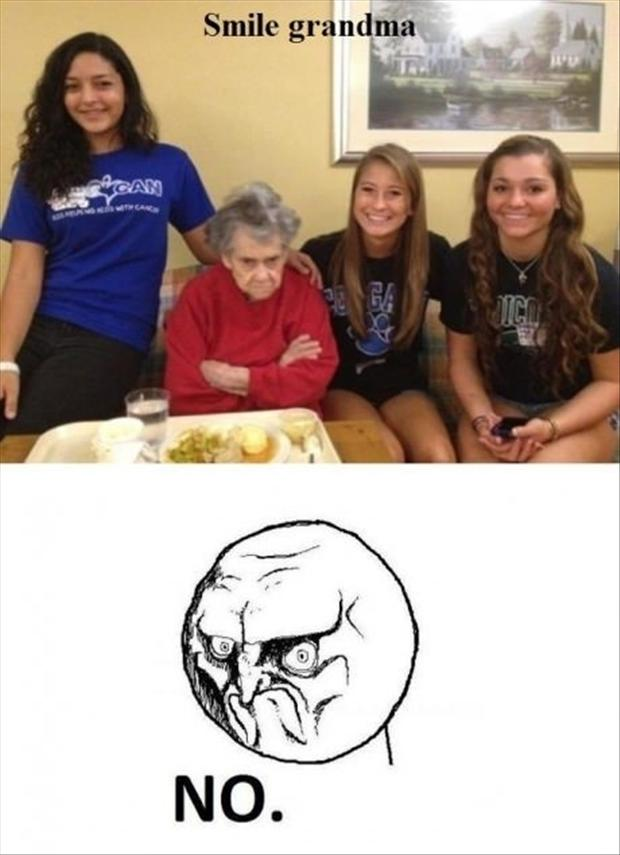 Funny Birthday Meme For Grandma : Smile for the pictures funny birthday party