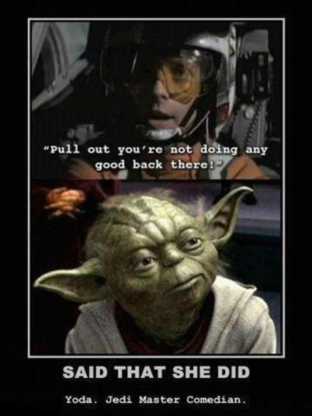 That Is What She Said Funny Star Wars Quotes Dump A Day