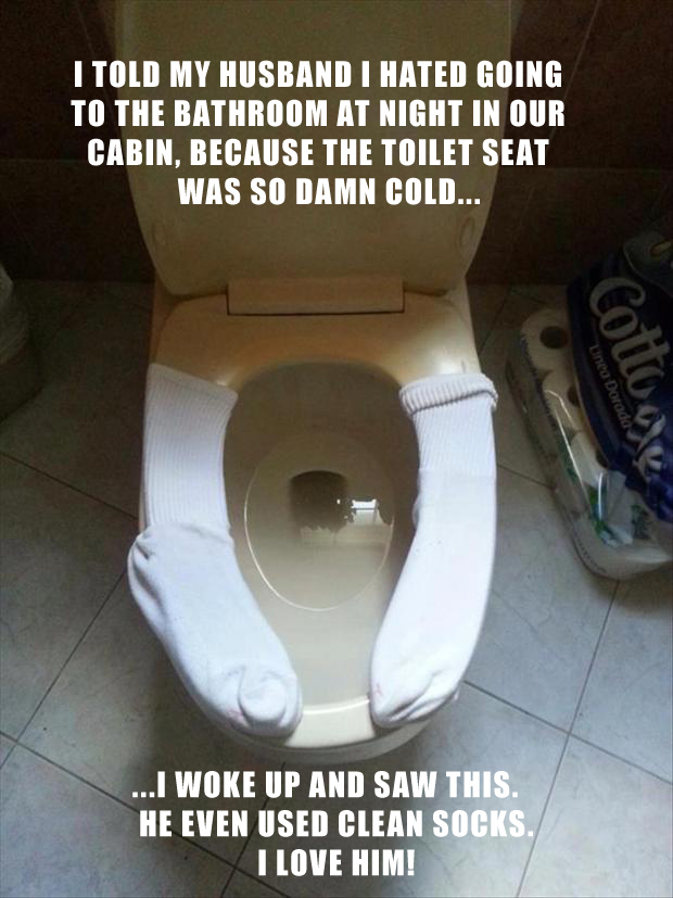1 how to warm your toilet seat
