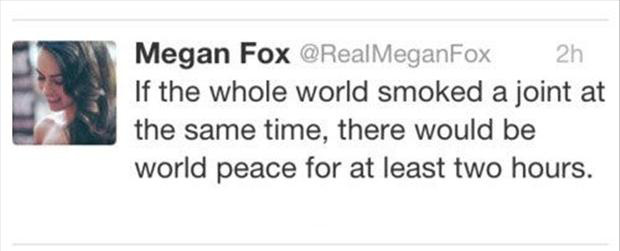 1 megan fox twitter quotes,