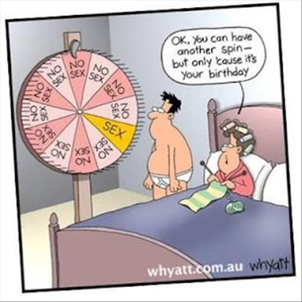 1 The Sex Wheel Funny Cartoons Dump A Day
