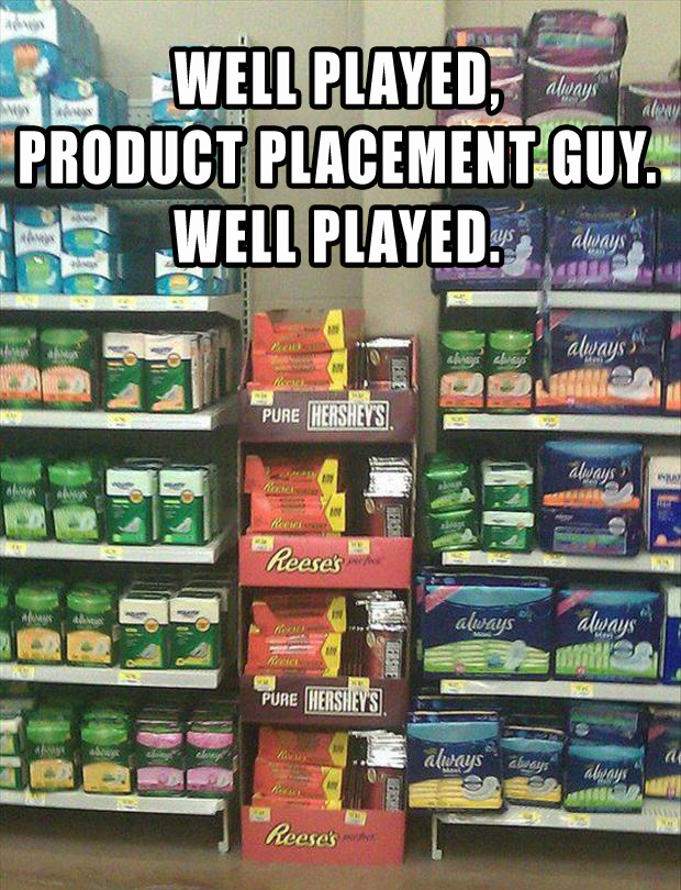 1 well played product placement guy