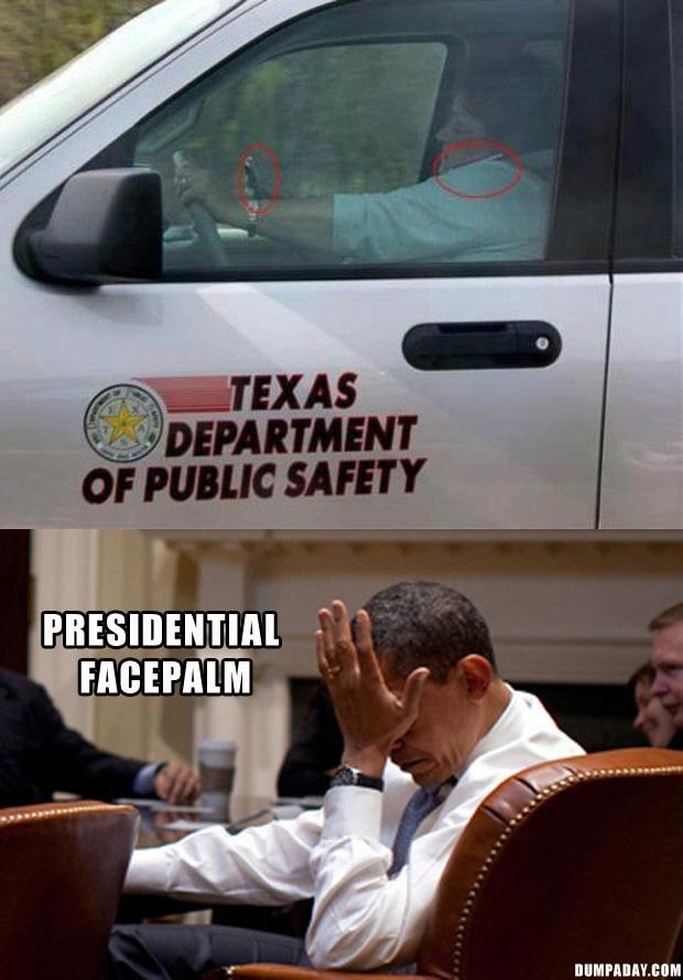 2 PRESIDENTIAL FACEPALM