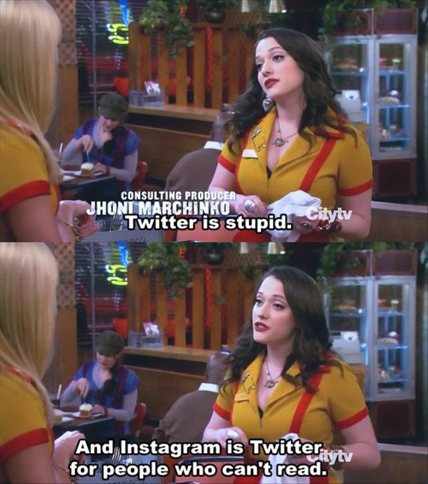 2 broke girls, funny pictures