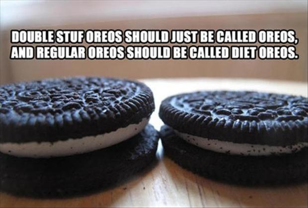 2 funny oreo pictures