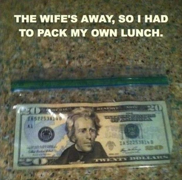 2 pack my own lunch, funny pictures