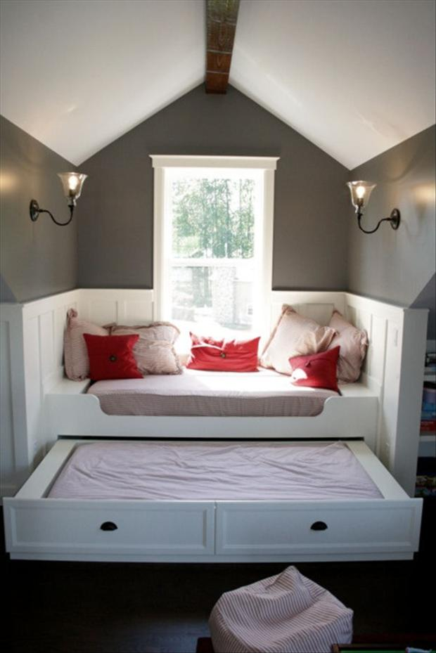 2 pull out guest bed