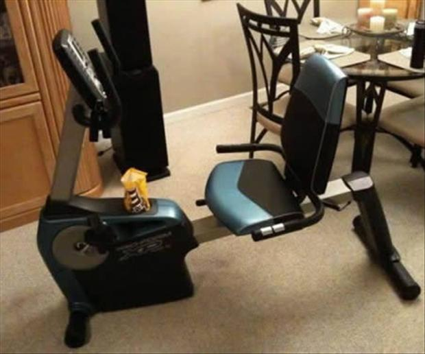 5 candy and workout machine