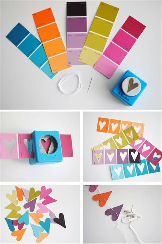 5 valentines day crafts, how to make hearts