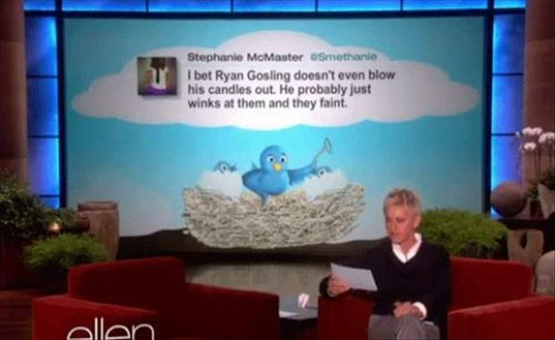 Funny twitter quotes from ellen degeneres