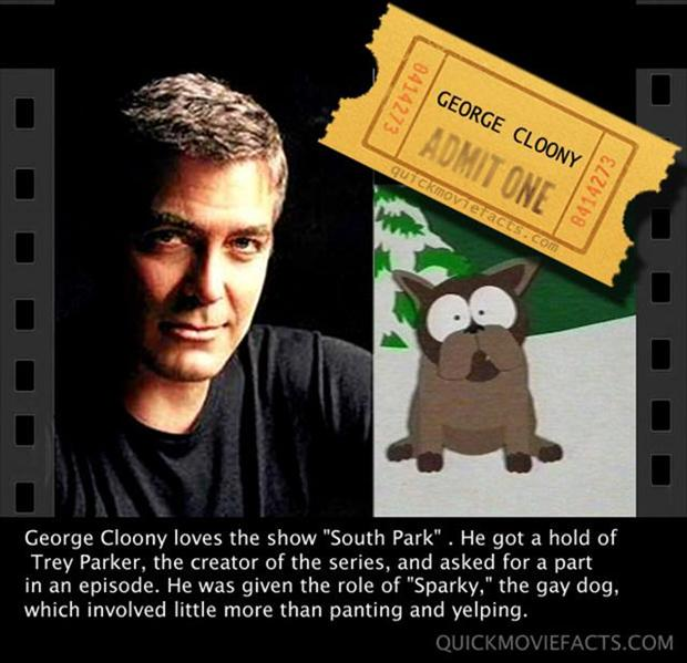 George Cloony 2 Movie Fact