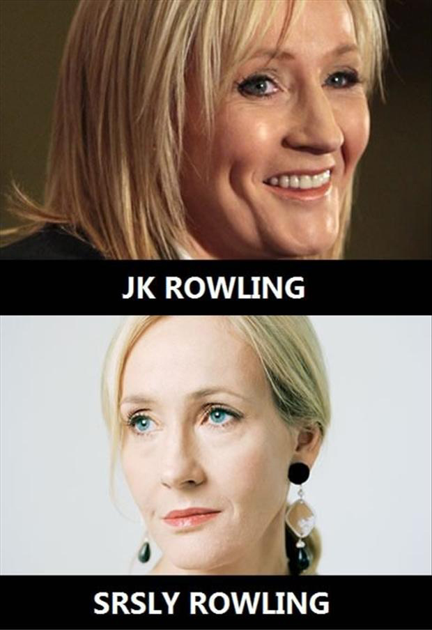 JK Rowling, funny pictures
