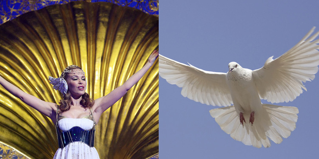 Kylie Minogue A Fabulous Dove