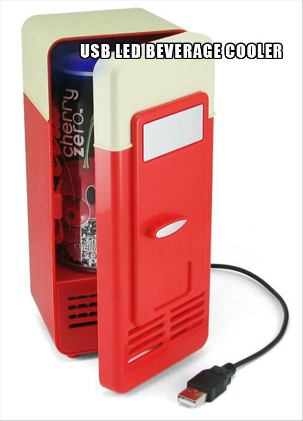 USB LED Beverage Cooler, christmas gift ideas