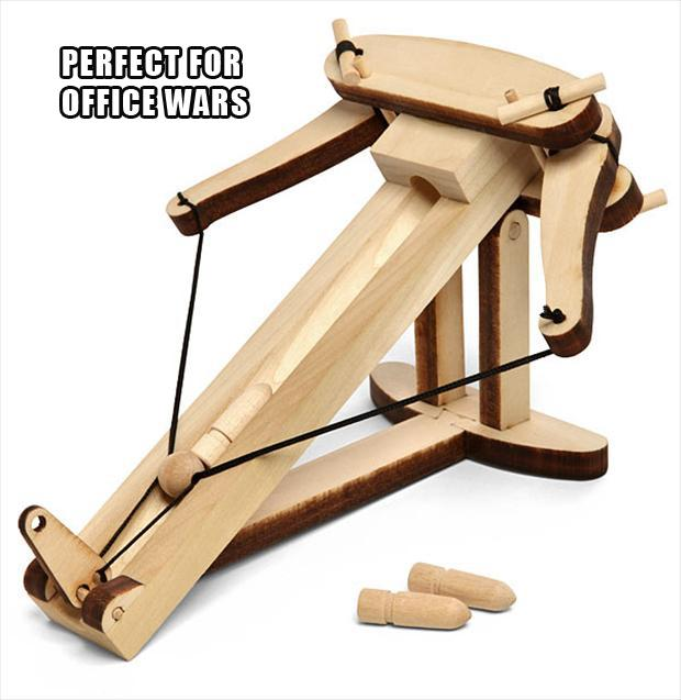 Wooden Ballista Kit, stocking stuffers
