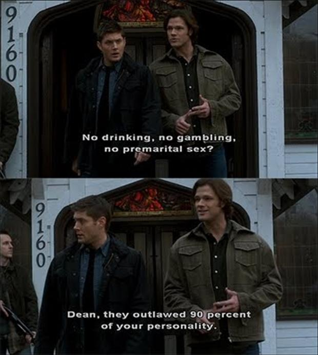 a Supernatural, funny pictures