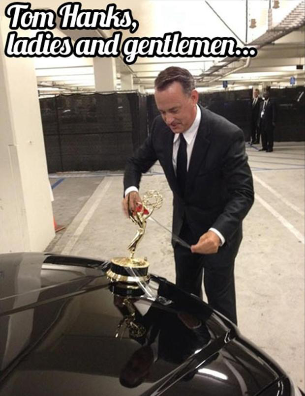 a Tom Hanks, funny pictures