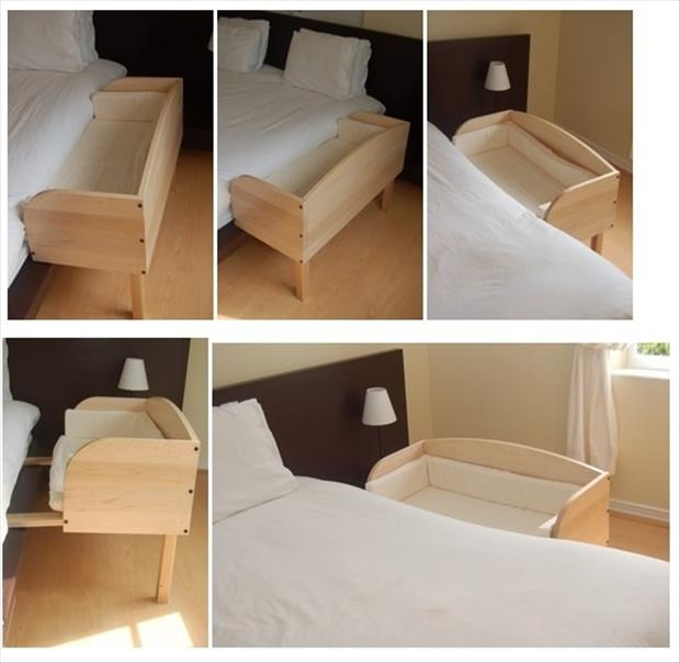 a baby bed, smart ideas