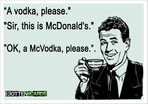 A Funny McDonalds Pictures