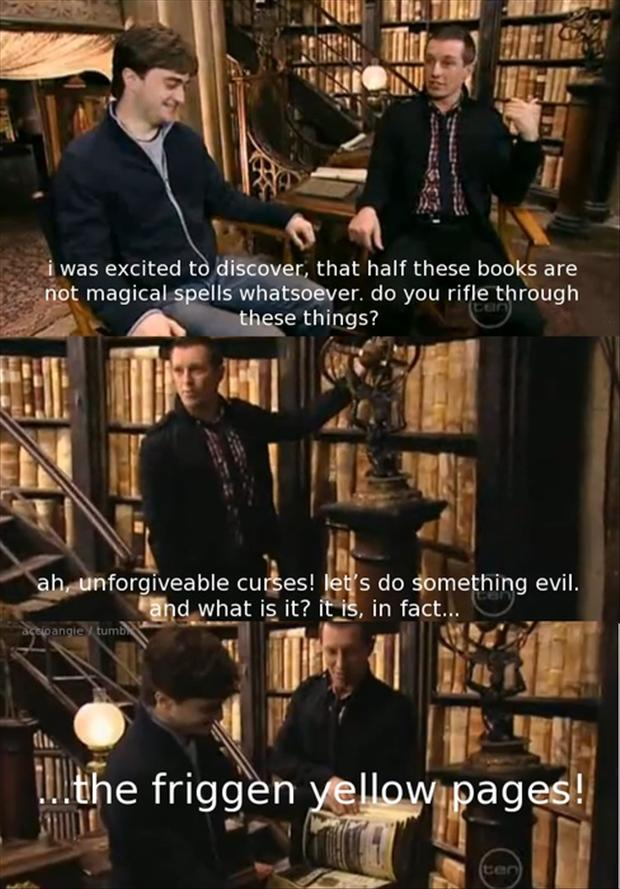 a funny harry potter facts
