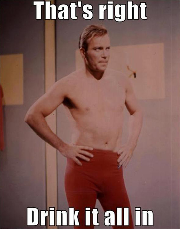 a funny pictures, captain kirk