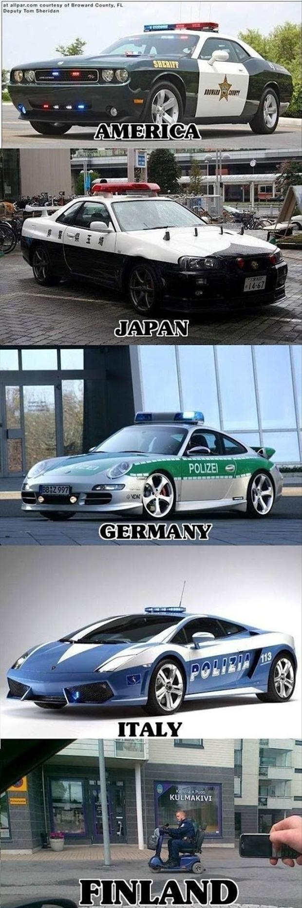 a funny pictures, police cars